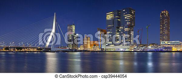 Rotterdam Panorama. - csp39444054