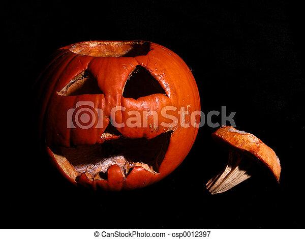 Rotting Pumpkin - csp0012397