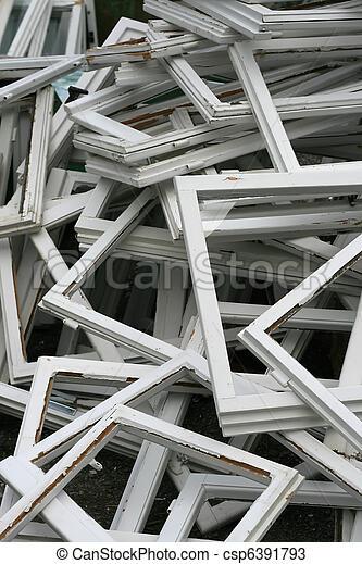 rotto, struttura finestra - csp6391793