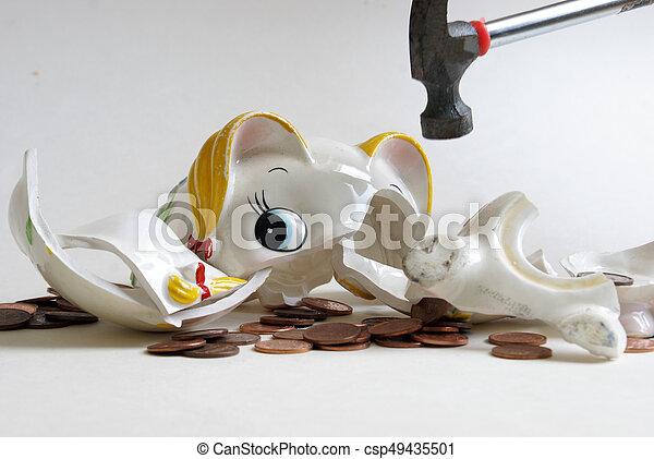 Rompiendo el banco - csp49435501