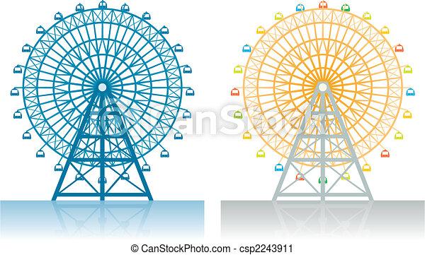 roue, ferris - csp2243911