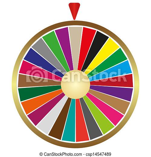 roue, fortune - csp14547489