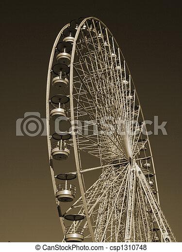 roue, géant - csp1310748