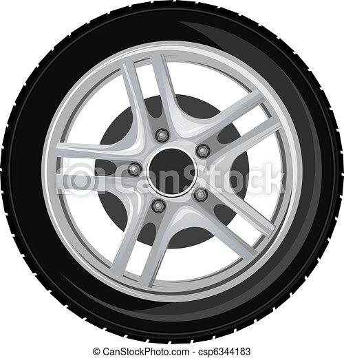 roue, pneu - csp6344183