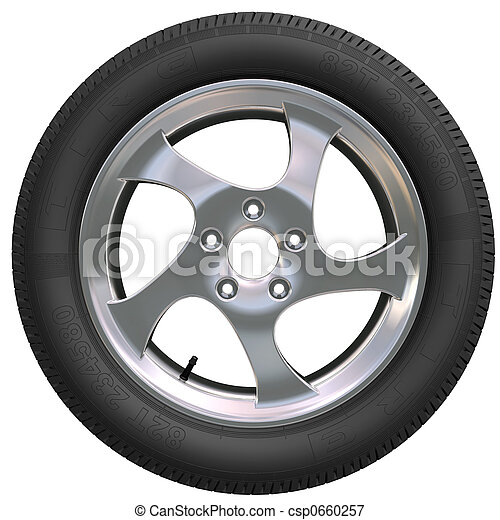 roue, voiture - csp0660257