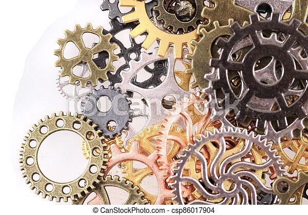 roues, machine, temps - csp86017904