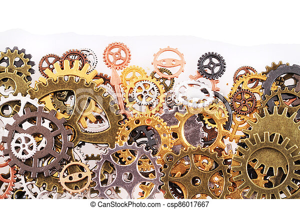 roues, machine, temps - csp86017667