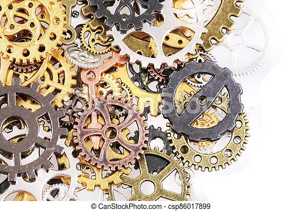 roues, machine, temps - csp86017899