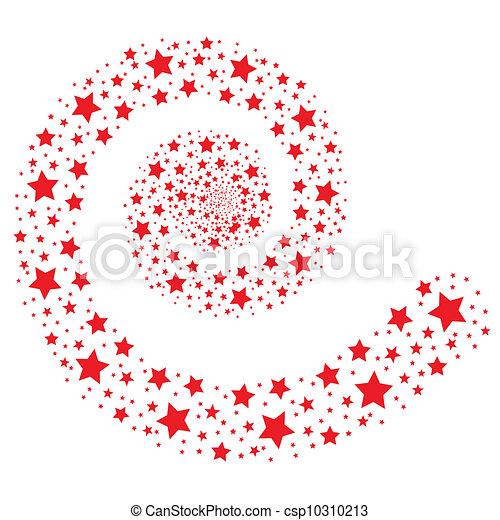 rouges, étoiles - csp10310213