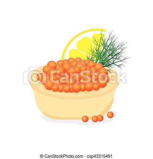Rouges Caviar Tartlet Buffet Apéritif