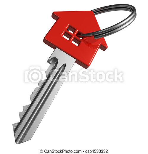 rouges, clã©, house-shape - csp4533332