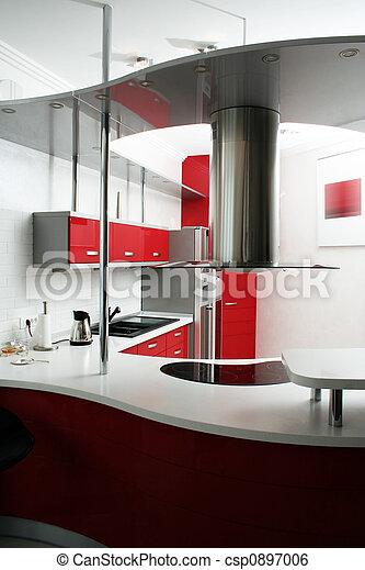 rouges, cuisine - csp0897006