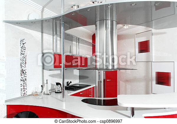 rouges, cuisine - csp0896997