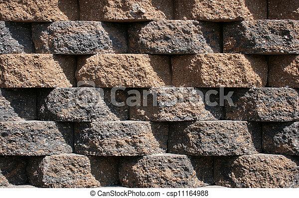 Rough Block Wall Pattern - csp11164988