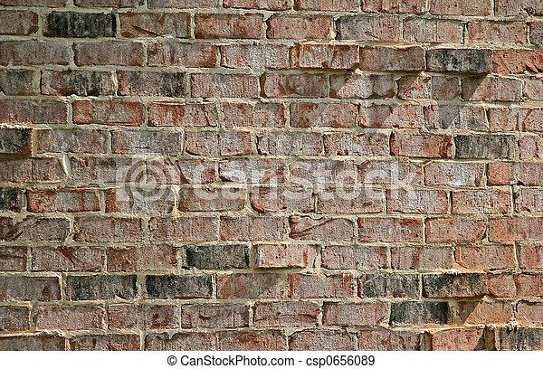 Rough Brick Wall - csp0656089