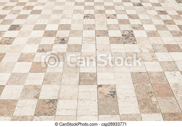 Rough textured stone tiles, exterior walkway, perspective... picture ...