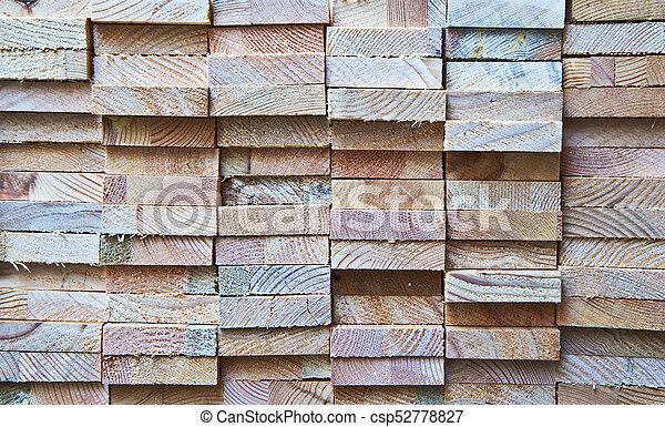 rough wooden blocks texture csp52778827