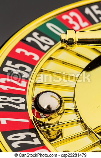 roulette casino gambling - csp23281479