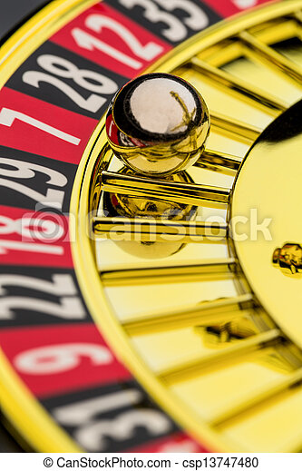 roulette casino gambling - csp13747480
