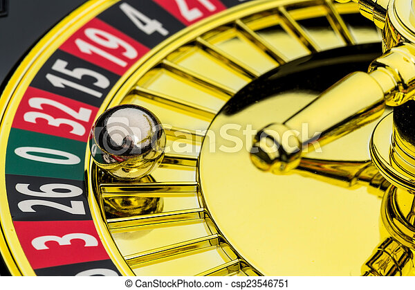 roulette casino gambling - csp23546751