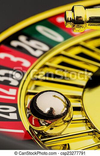 roulette casino gambling - csp23277791