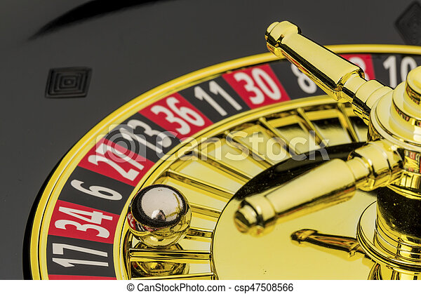 roulette gambling in the casino - csp47508566