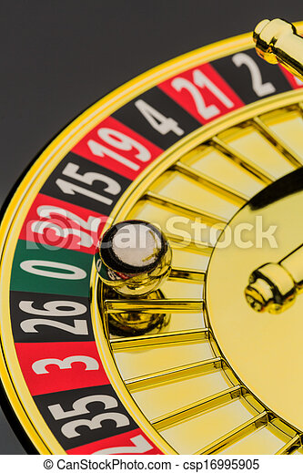 roulette gambling in the casino - csp16995905