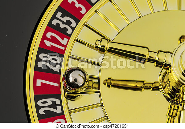 roulette gambling in the casino - csp47201631
