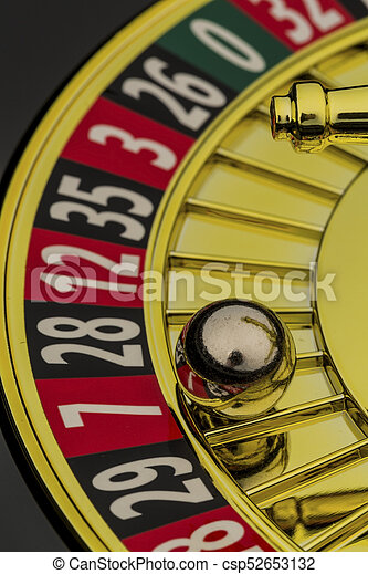 roulette gambling in the casino - csp52653132