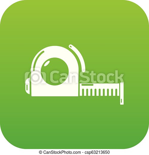 Roulette icon green vector - csp63213650