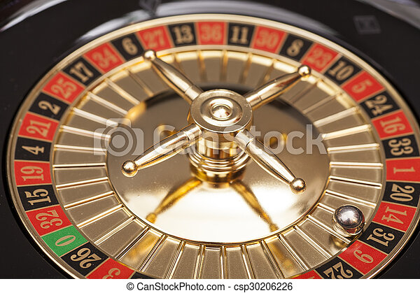 Roulette in casino - csp30206226