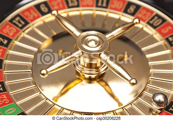 Roulette in casino - csp30206228