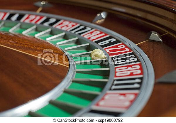 Roulette wheel - csp19860792