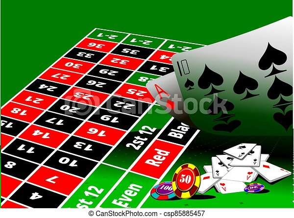 roulette.eps, ss-1248-green - csp85885457