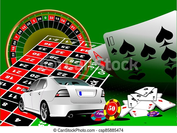 roulette.eps, ss-1249-green - csp85885474