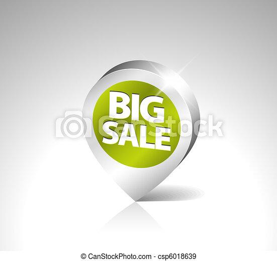 Round 3D pointer for big sale - csp6018639