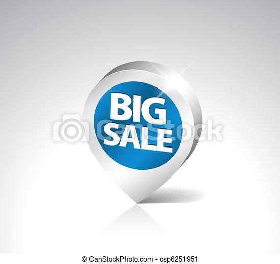 Round 3D pointer for big sale - csp6251951