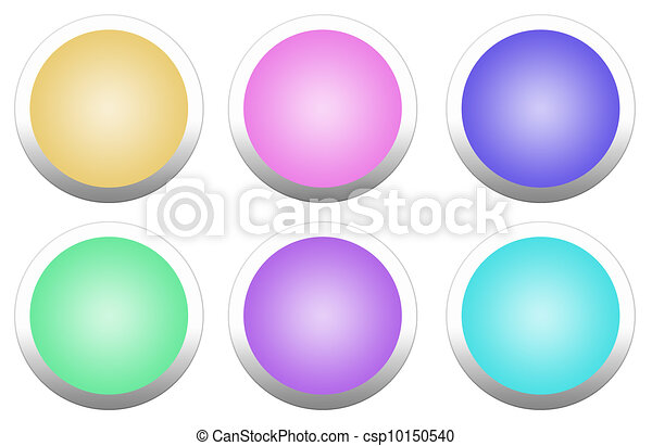 Round button - csp10150540