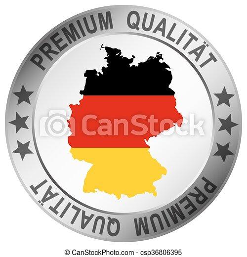 round button for germany Premium Qualität - csp36806395