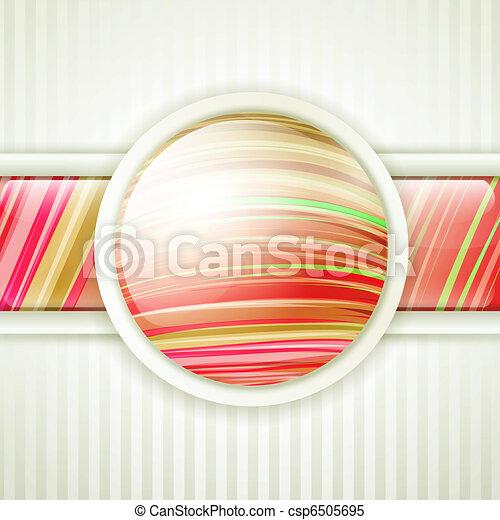 round button frame - csp6505695