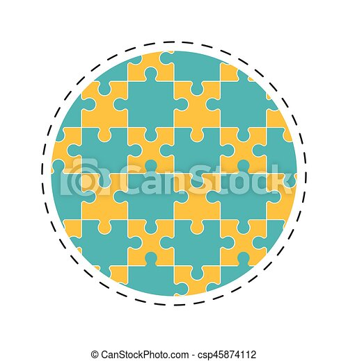 round collection puzzle solution image - csp45874112