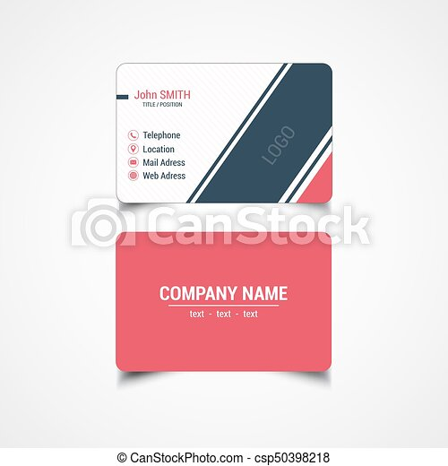 Round corner business card template vector illustration vector round corner business card template csp50398218 flashek Image collections