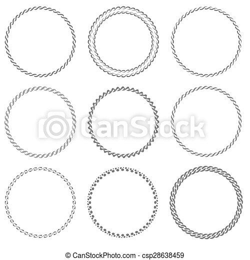 Round Frames - csp28638459