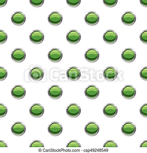 Round green button pattern - csp49248549