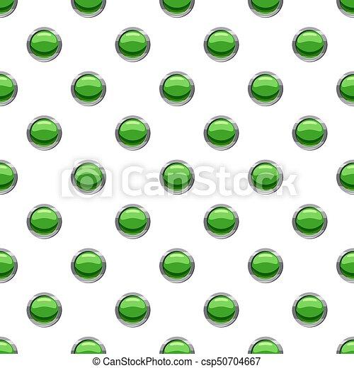 Round green button pattern - csp50704667