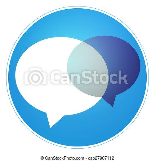 round icon button - csp27907112