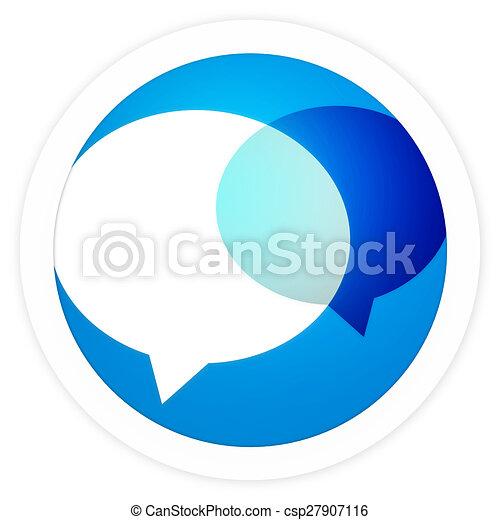 round icon button - csp27907116