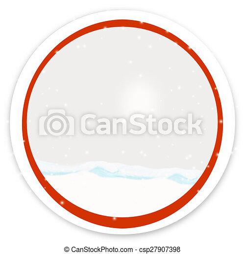 round icon button - csp27907398