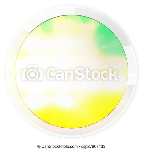 round icon button - csp27907433
