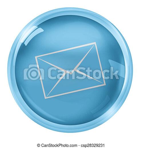 Round Icon Button Symbol - csp28329231